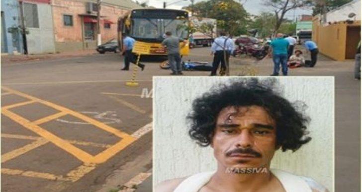 POLÍCIA MILITAR CAPTURA PROCURADO DA JUSTIÇA APÓS O MESMO SOFRER ACIDENTE COM MOTO-TAXI EM OURINHOS.
