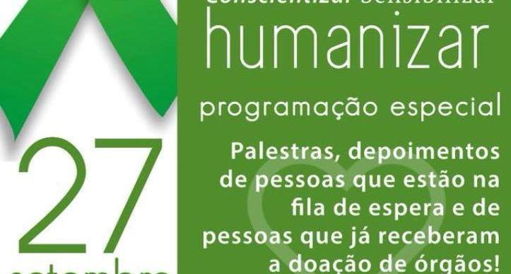 27 DE SETEMBRO- DIA NACIONAL DO DOADOR DE ÓRGÃOS