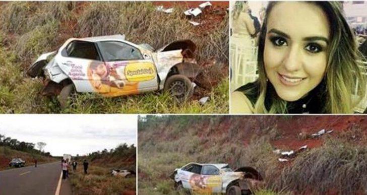 FAMÍLIA QUE VIAJAVA PARA OURINHOS SOFRE ACIDENTE E MULHER MORRE NA MS-040