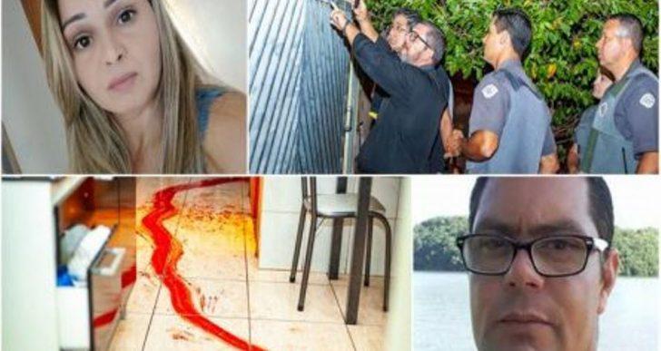 TERROR! JOVEM É ASSASSINADA COM MAIS DE 15 FACADAS E EX- AMÁSIO ESTÁ FORAGIDO