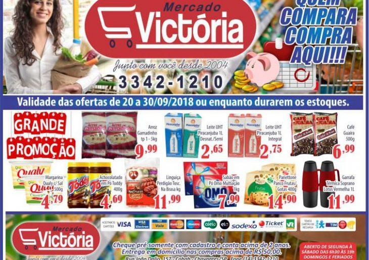 CONFIRA AS OFERTAS DE SETEMBRO QUE O MERCADO VICTÓRIA TRAZ PARA VOCÊ!!!