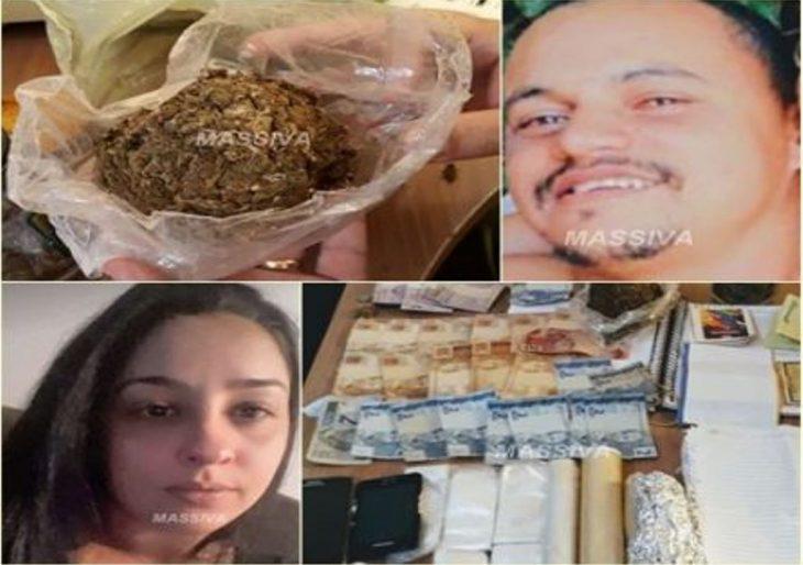 DISE PRENDE CASAL NO TRÁFICO DE DROGAS PELO JARDIM QUEBEC EM OURINHOS