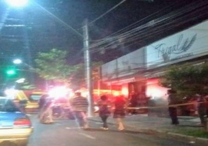 PRINCÍPIO DE INCÊNDIO NA PADARIA TRIGAL DA AVENIDA DOMINGOS CAMERLINGO CALÓ, EM OURINHOS.