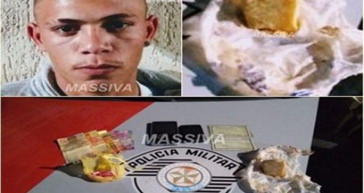 POLÍCIA MILITAR PRENDE TRÊS NO TRÁFICO DE DROGAS NO JARDIM ITAMARATY