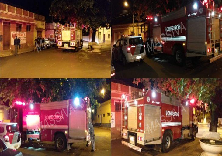 PRINCÍPIO DE INCÊNDIO ASSUSTA COMERCIANTE DA CIDADE DE CHAVANTES
