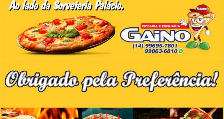 PIZZA GAINO ESSA SIM VALE A PENA – ENCOMENDE JÁ A SUA!