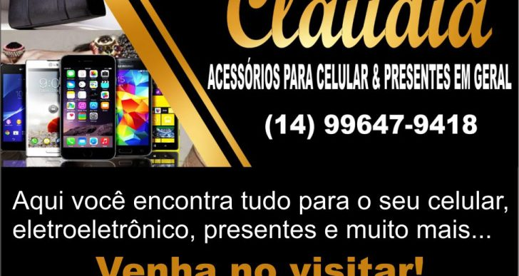 CLÁUDIA ACESSÓRIOS PARA CELULAR & PRESENTES EM GERAL