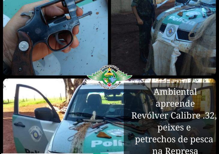 POLÍCIA AMBIENTAL PRENDE DUAS PESSOAS E APLICA MULTAS NO PERÍODO DE PIRACEMA