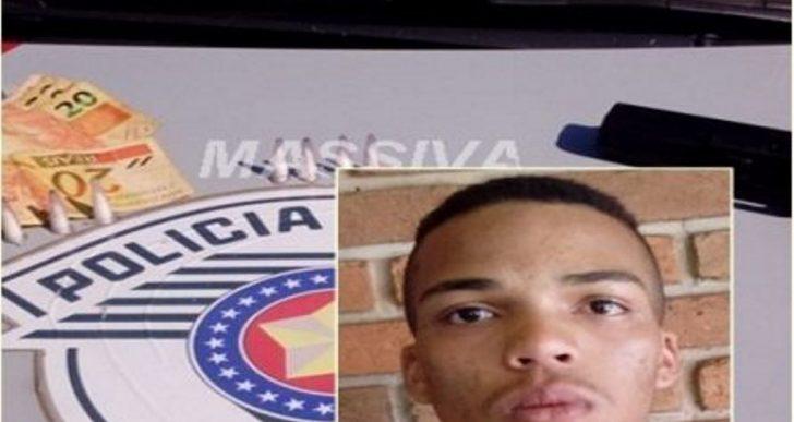 POLÍCIA MILITAR PRENDE INDIVÍDUO NO TRÁFICO DE DROGAS NA VILA CHRISTONI