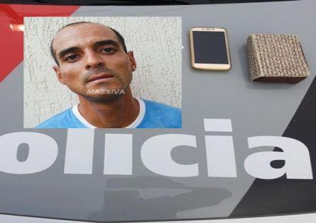 POLÍCIA MILITAR PRENDE TROMBADÃO APÓS ROUBAR VÍTIMA NO CENTRO DE OURINHOS