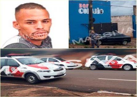 POLÍCIA MILITAR CAPTURA PROCURADO DA JUSTIÇA NO BAR CORUJÃO EM OURINHOS