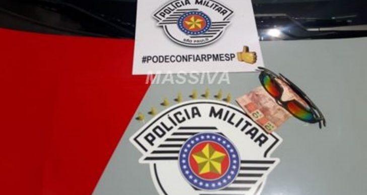 POLÍCIA MILITAR APREENDE ADOLESCENTE TRAFICANDO DROGAS PRÓXIMO AO CSU.