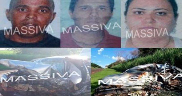 TRAGÉDIA – QUATRO PESSOAS MORREM EM ACIDENTE PRÓXIMO AO ANTIGO PEDÁGIO DE MARQUES DOS REIS.