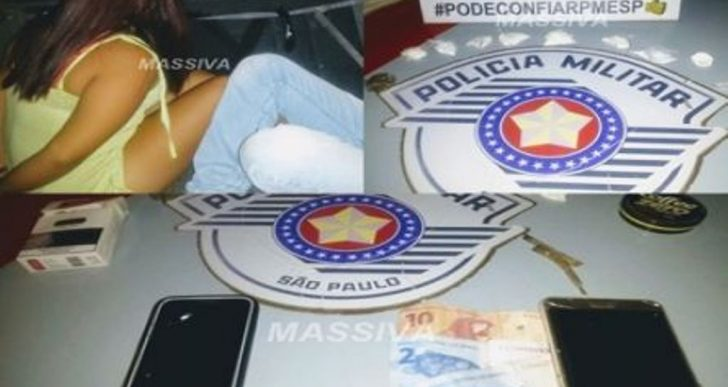 POLÍCIA MILITAR PRENDE DOIS NO TRÁFICO DE DROGAS EM RIBEIRÃO DO SUL