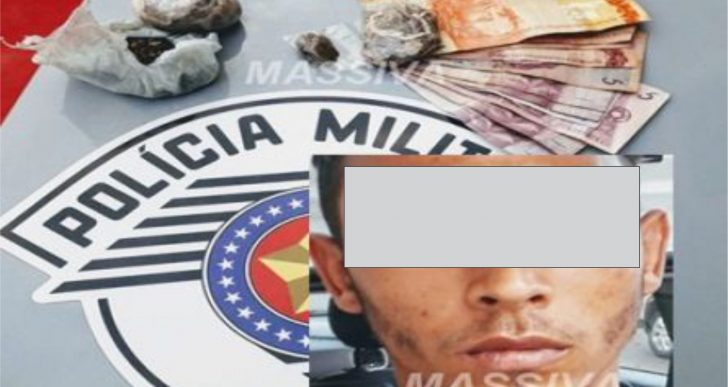 RPM DE CHAVANTES PRENDE TARZÃ NO TRÁFICO DE DROGAS.
