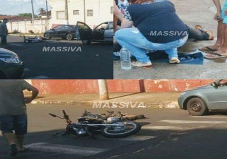 QUARTA-FEIRA SOFRE ACIDENTE COM MOTO NA BARRA FUNDA.