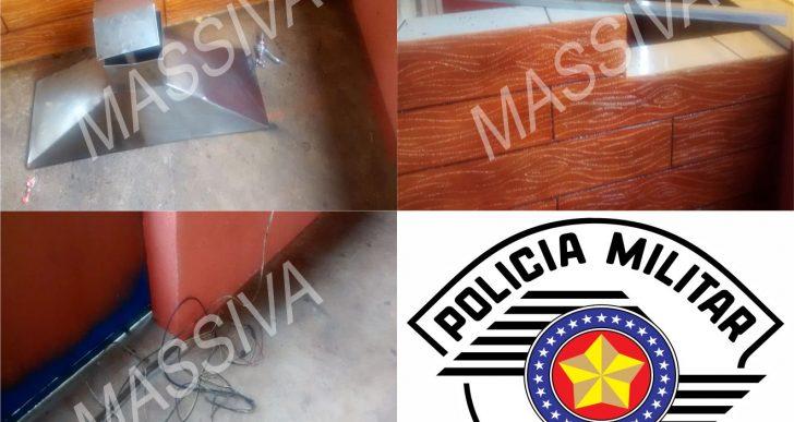 """POLÍCIA MILITAR DE CHAVANTES PRENDE INDIVÍDUO APÓS FURTAR O TRAILER """"ESPETINHO DO POLACO"""""""
