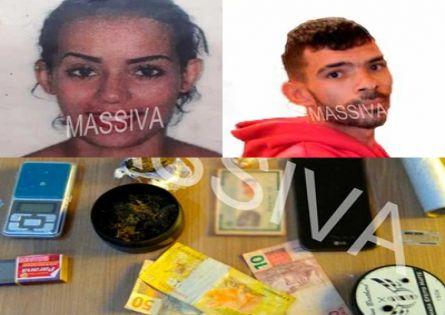 POLICIAIS CIVIS DA DISE PRENDEM IRMÃOS NO TRÁFICO DE DROGAS