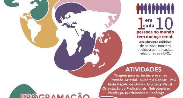 SANTA CASA DE OURINHOS- PROMOVE EVENTO EM COMEMORAÇÃO AO DIA MUNDIAL DO RIM