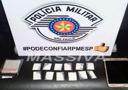 POLÍCIA MILITAR APREENDE DOIS MENORES NO TRÁFICO NO JARDIM FLÓRIDA.