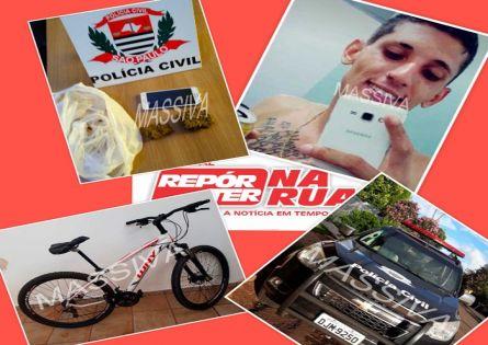DISE PRENDE PIZZAIOLO COM DROGAS NO TERMINAL RODOVIÁRIO DE OURINHOS.