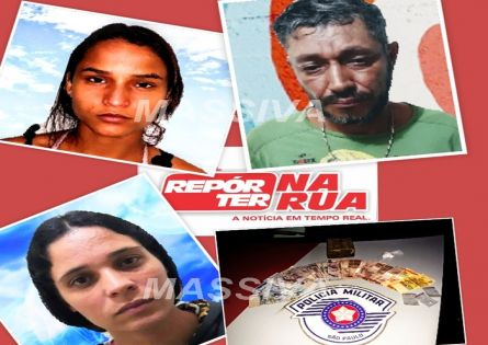 POLÍCIA MILITAR APREENDE MEIO TIJOLO DE MACONHA E TRÊS SÃO PRESOS NA VILA SÃO LUIZ.