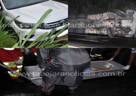 MOTORISTA MORRE EM ACIDENTE COM CARRETA NA BR 153