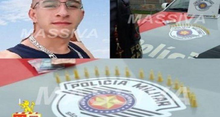FORÇA TÁTICA PRENDE INDIVÍDUO COM PORÇÕES DE COCAÍNA NO ORLANDO QUAGLIATO.