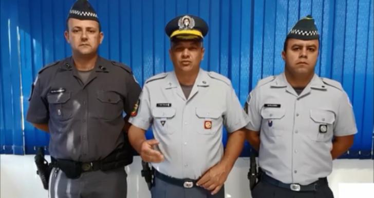POLÍCIA MILITAR DE CHAVANTES MAIS UMA VEZ ENTREGA CHOCOLATES AOS IDOSOS DO LAR SÃO VICENTE DE PAULA