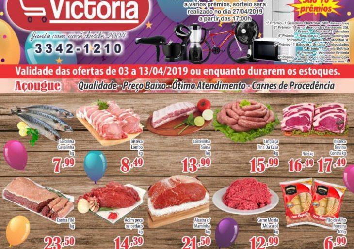 CONFIRA AS OFERTAS QUE O MERCADO VICTÓRIA PREPAROU PARA O MÊS DE ABRIL – VENHA CONFERIR!!!