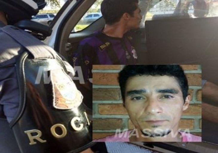 ROCAM CAPTURA PROCURADO DA JUSTIÇA NA VILA MARCANTE.
