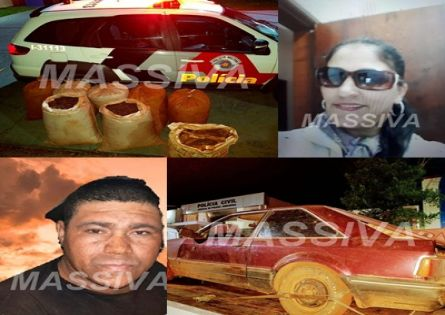 POLÍCIA MILITAR PRENDE MORADORA DO PACHECO CHAVES E UM DE JACAREZINHO APÓS FURTO DE SACAS DE CAFÉ.