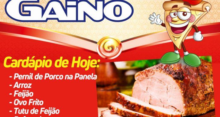 RESTAURANTE GAINO- CONFIRA O CARDÁPIO DE QUINTA FEIRA 11/07/2019