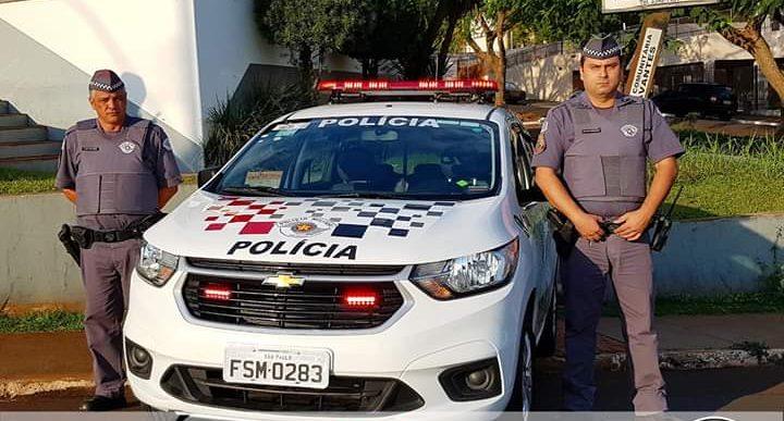 POLÍCIA MILITAR DE CHAVANTES RECEBE VIATURA 0KM DO GOVERNO DO ESTADO