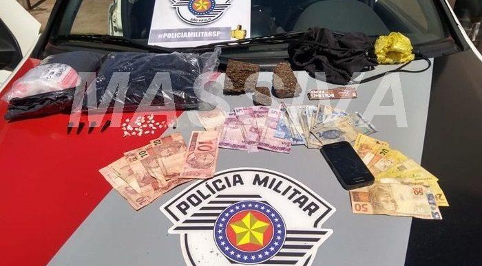 POLÍCIA MILITAR PRENDE MAIS UM NO TRÁFICO DE DROGAS EM CANITAR