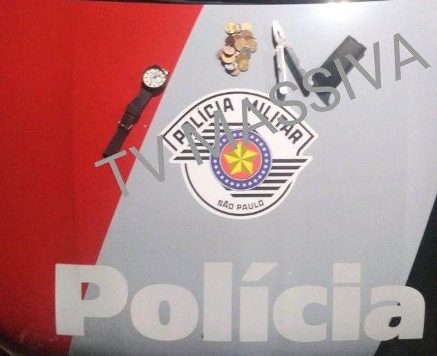 POLÍCIA MILITAR PRENDE DOIS APÓS FURTO DE RESIDÊNCIA NA NOVA OURINHOS.