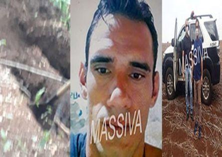 POLICIAIS CIVIS DA DIG IDENTIFICAM CORPO ENCONTRADO ENTERRADO NA LAJEADINHO EM OURINHOS.