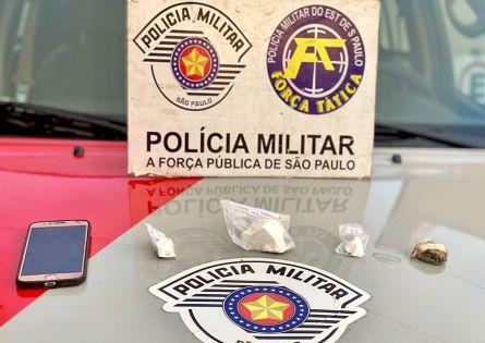 FORÇA TÁTICA PRENDE ENCANADOR NO TRÁFICO NO J. ITAJUBI.
