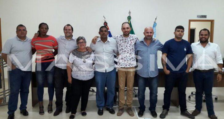 FOI ELEITA PARA 2018 A NOVA PRESIDÊNCIA DA CÂMARA MUNICIPAL DE CHAVANTES