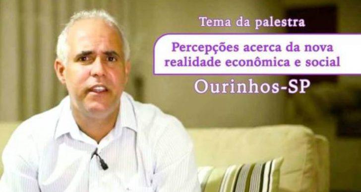 PASTOR CLÁUDIO DUARTE FARÁ PALESTRA EM OURINHOS E PARTE DA RENDA SERÁ REVERTIDA PARA SANTA CASA