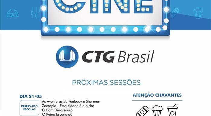 CINE CTG BRASIL LEVA CINEMA GRATUITO A CHAVANTES NOS DIAS 21 E 22