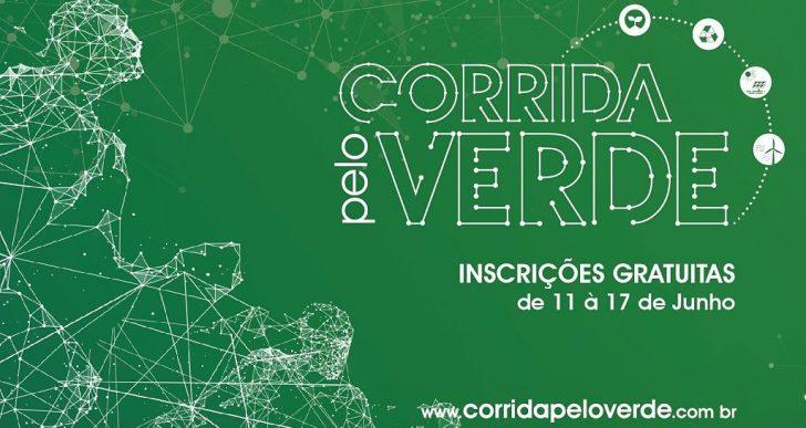 INSCRIÇÕES PARA A CORRIDA PELO VERDE ESTÃO ABERTAS ATÉ DOMINGO 24 DE JUNHO