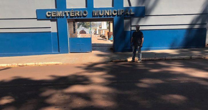 VEREADOR DANIEL BELIZÁRIO INDICA AO PREFEITO DE CHAVANTES UMA AMPLIAÇÃO NO CEMITÉRIO DE IRAPÉ