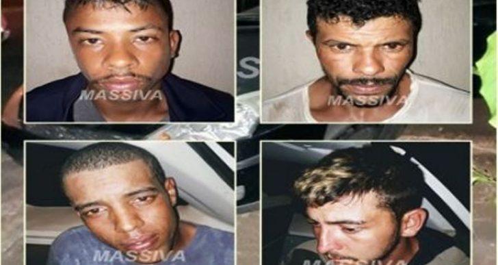ESTE É O BRASIL QUE EU QUERO – POLÍCIA MILITAR DE OURINHOS PRENDEU QUATRO APÓS ROUBOS NO PARANÁ.