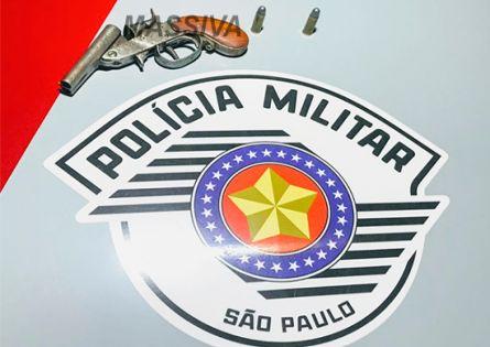 POLÍCIA MILITAR DE OURINHOS APREENDE ARMA DE FOGO NO DISTRITO DE IRAPÉ