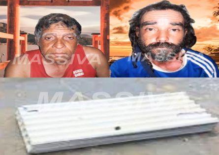 POLÍCIA MILITAR PRENDE DOIS EM FLAGRANTE FURTANDO TELHAS EM SALTO GRANDE.