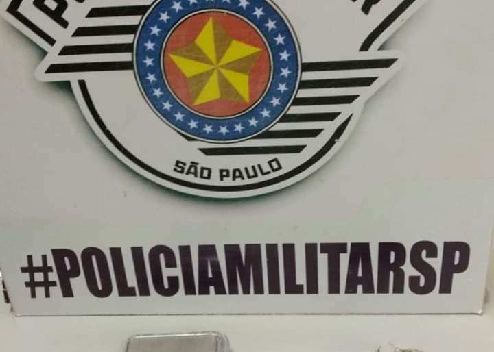 POLÍCIA MILITAR DO 5° GP/ PM APREENDE  ADOLESCENTE COM MACONHA EM IPAUSSU