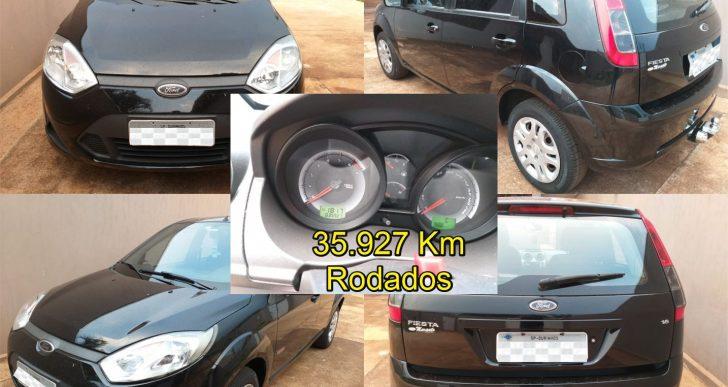 VENDO FORD FIESTA 2012/2013 – 1.6 FLEX – SUPER CONSERVADO C/ 35. 927 KM RODADOS