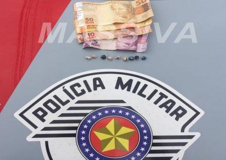 POLÍCIA MILITAR APREENDE ADOLESCENTE COM DROGAS NO CDHU EM OURINHOS.