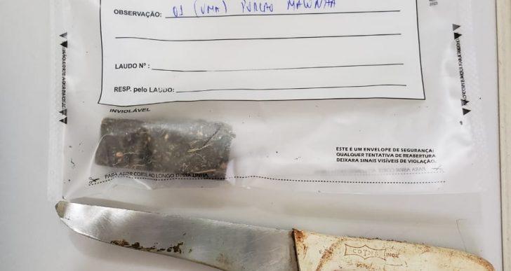POLICIA MILITAR PRENDE NONO NO TRÁFICO DE DROGAS EM IPAUSSU
